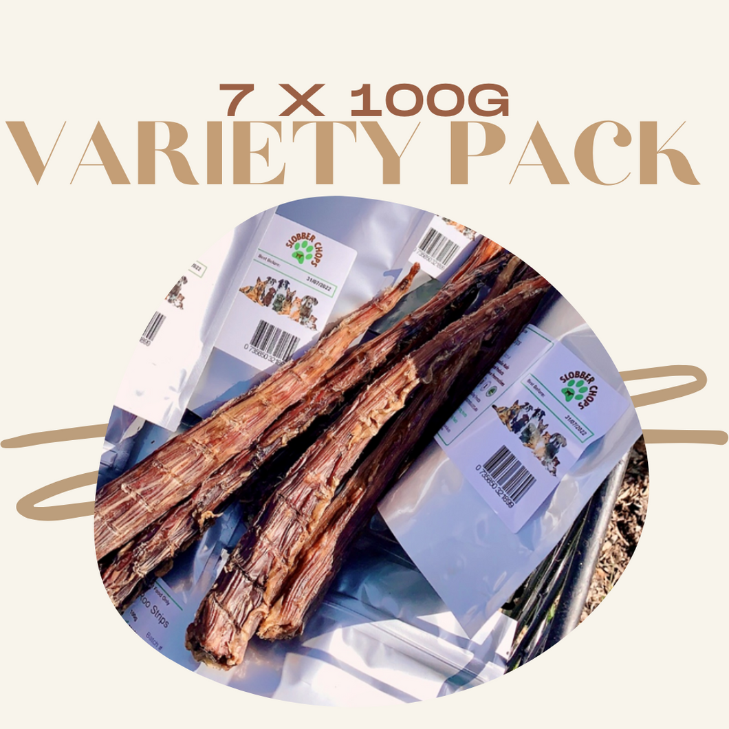 7 x 100g - VARIETY DOG TREATS PACK