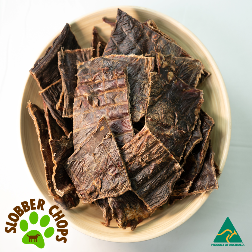 WILD ROO JERKY (SHORT) - DOG TREATS