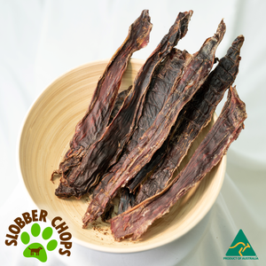 ROO STRIPS (THIN JERKY) - DOG TREATS