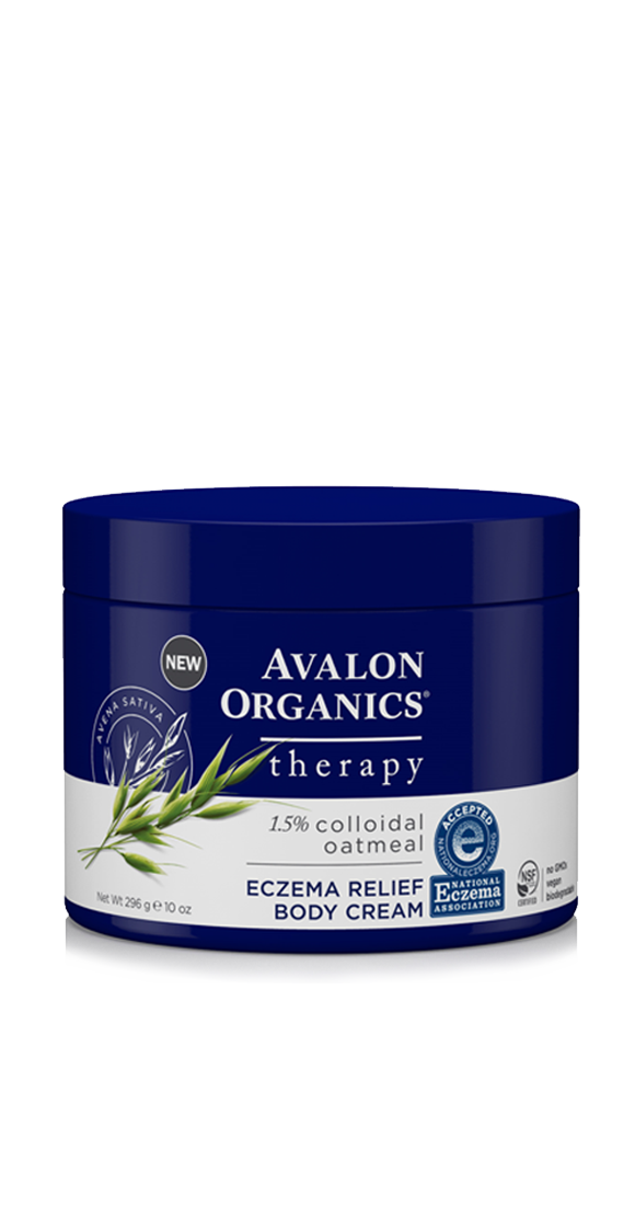 Eczema Relief with Colloidal Oatmeal