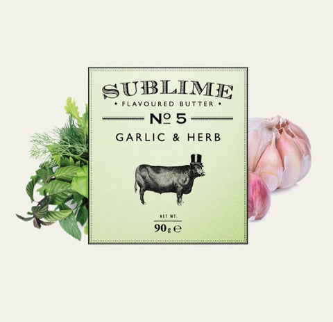 Sublime Butter - Garlic & Herb No5