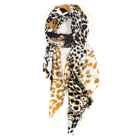 MARLOW LEOPARDS - IVORY