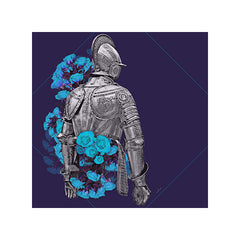 KNIGHT & ROSES - BLUE