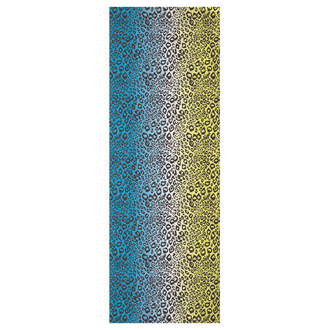 LEOPARD OMBRE - YELLOW BLUE