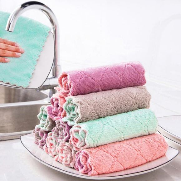 Clean Towels Microfiber Dishcloth