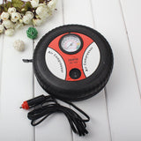 Mini Portable Car Tires  Air Compressor 12v Auto Inflatable
