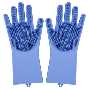 Multifunction Silicone Cleaning Gloves Dish Washing