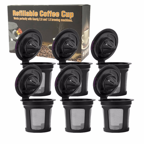 Refillable Coffee Pods Filter Cup Reusable