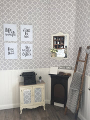 Choice of Typography prints monochrome