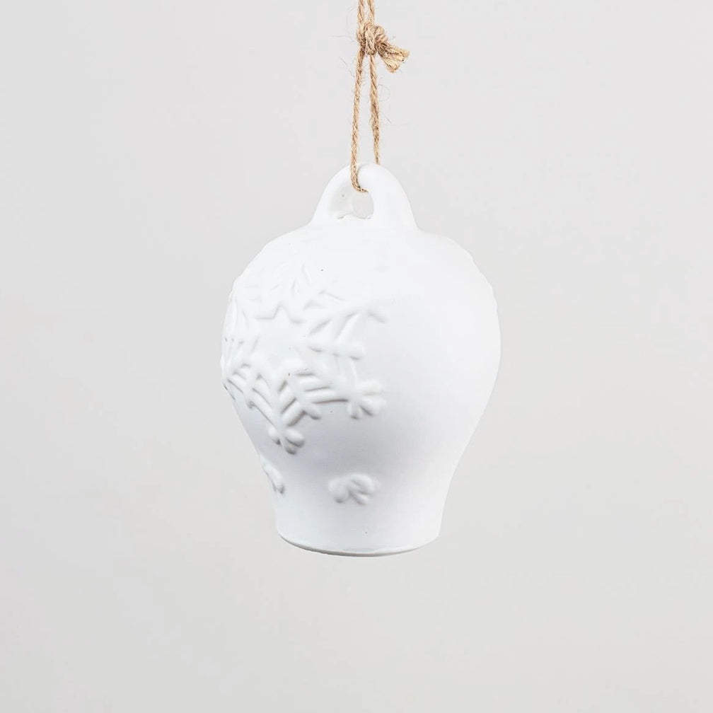 Porcelain bell decoration