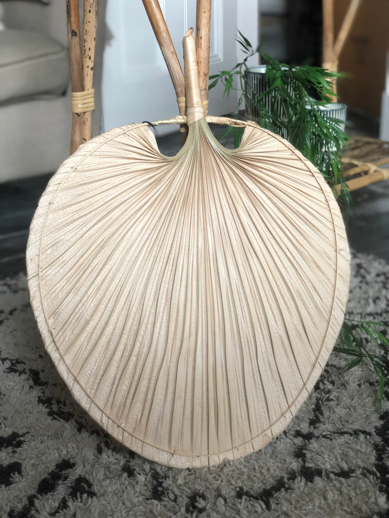 Natural palm leaf - 2 sizes