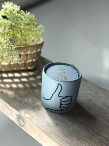 You got this - scented candle - mint leaf & cardamon