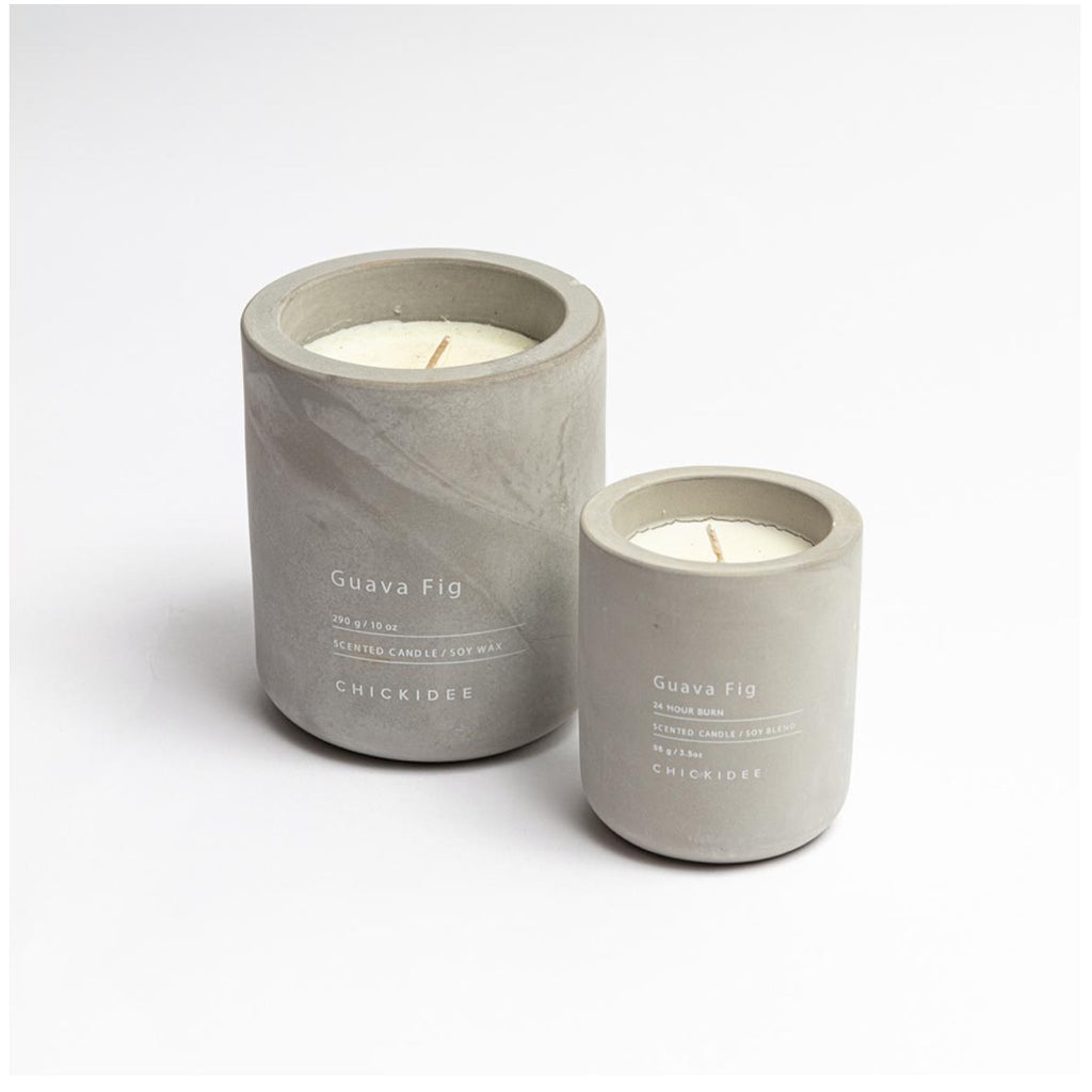 Concrete candle - Guava fig (small)