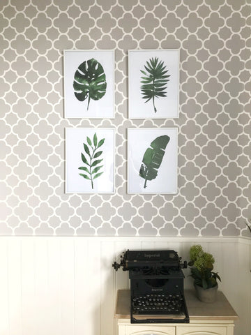 single leaf print - choice of leaves