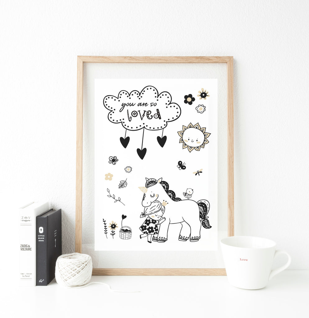 You are so loved  - whimsical collection