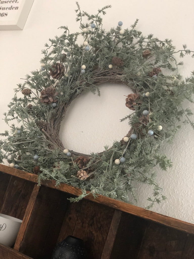 Winter Wonderland rustic wreath