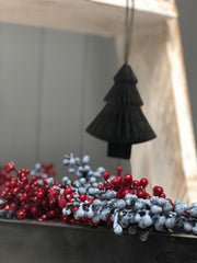 Consatina black tree decoration