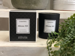 Black scented candle - Alfonso XIII