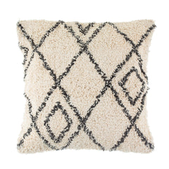 Berber style tufted cushion