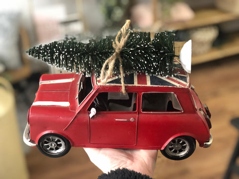 Classic mini with tree - iron