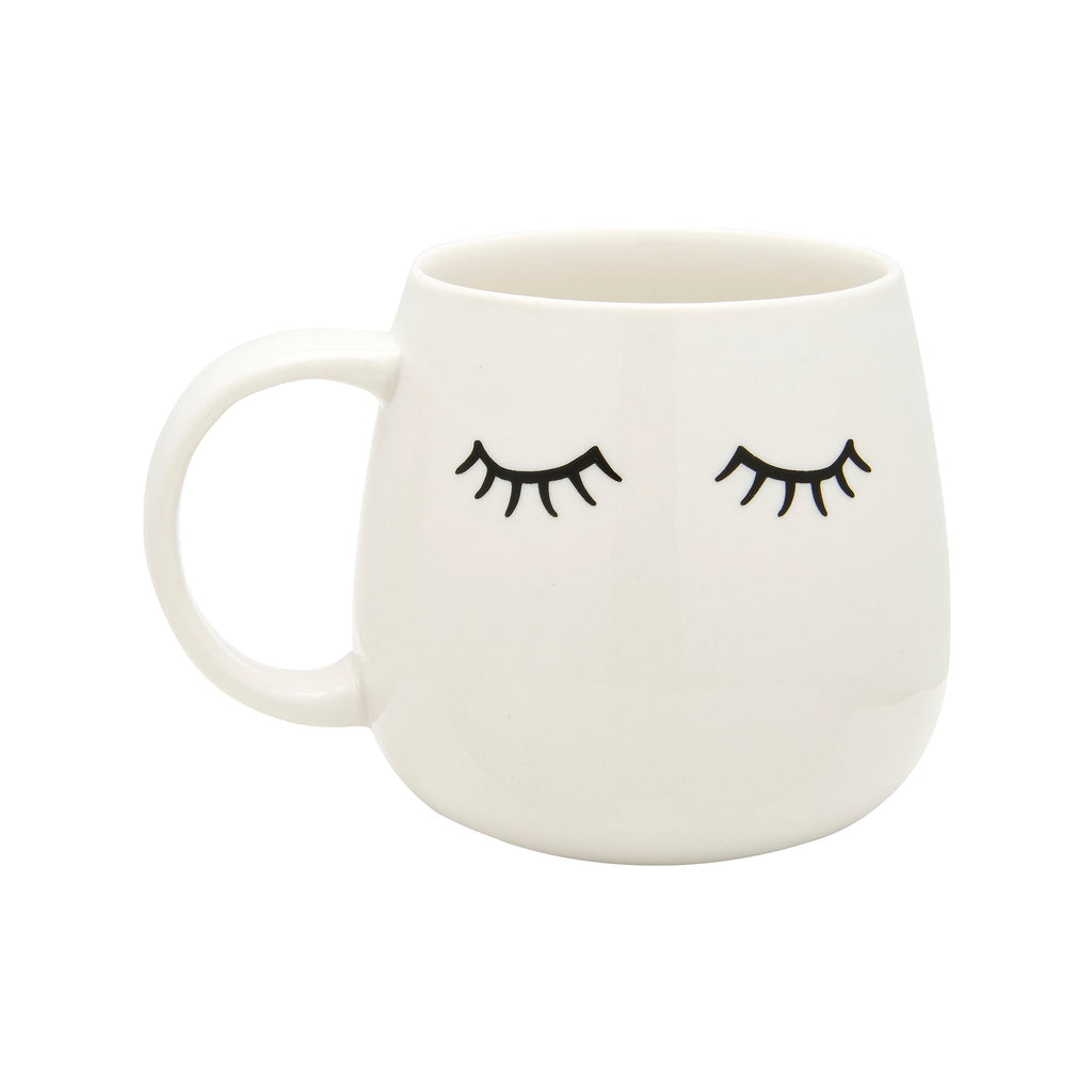 Sleepy ceramic mug