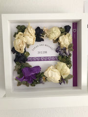 Wedding Bouquet Flower Frame