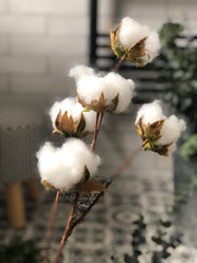 Artificial Cotton Pod Stem