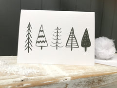 Scandinavian monochrome Cards - Pack of 12