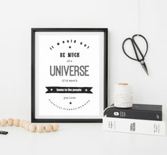Vintage Style Personalised Print - your words