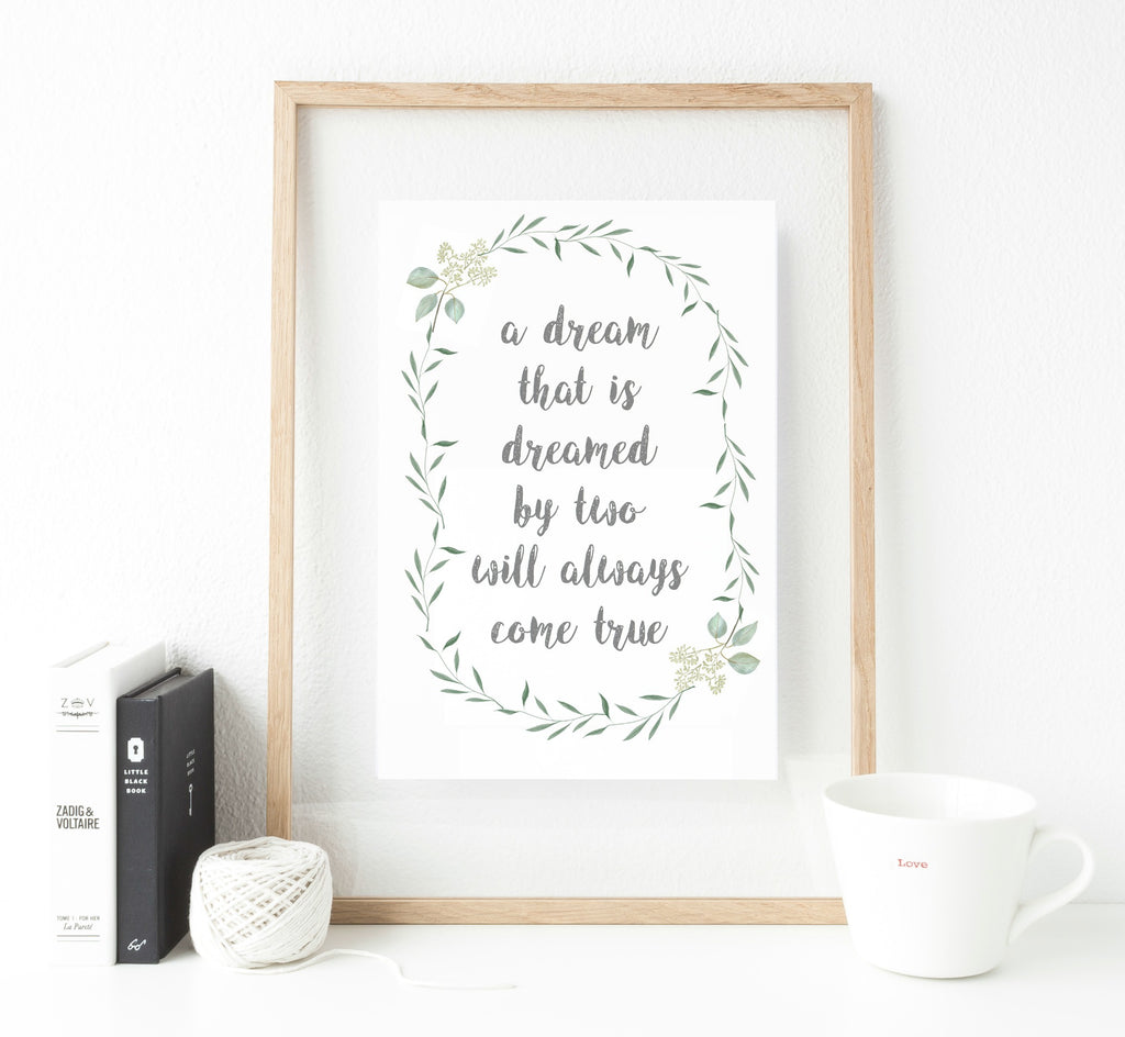 Quote print Selection