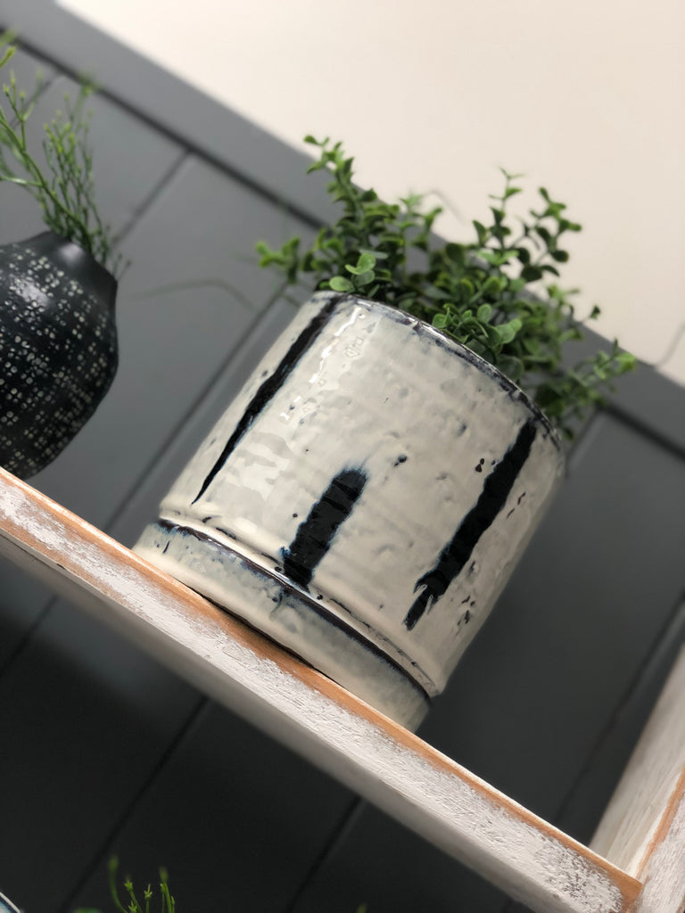 Danish Stoneware planter