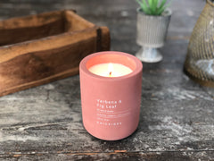 Concrete candle - Verbena & fig