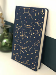 It is written in the stars premium hand sewn notebook