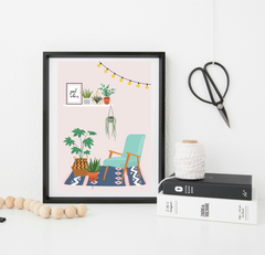 Home Goals print - shelfie
