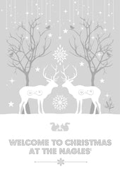 Welcome to Christmas Personalised Print