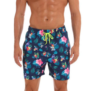 New Arrival Mens quick-drying breathable swimming suit beach trunks