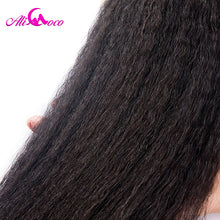 Load image into Gallery viewer, Ali Coco Peruvian Kinky Straight 100% Human Hair Bundles