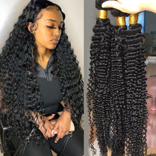 Load image into Gallery viewer, Brazilian Deep Wave 100% Human Hair Bundles