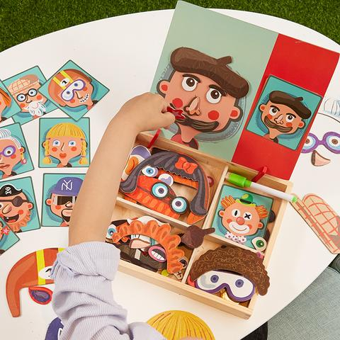 Dress Up & Learn- Magnetic 3D Puzzle