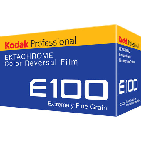 Kodak Professional Ektachrome E100 1884576 Color Transparency Film (35mm Roll Film, 36 Exposures)