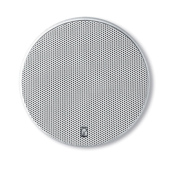"Poly-Planar 6.5"" Platinum Round Marine Speaker - (Pair) White"