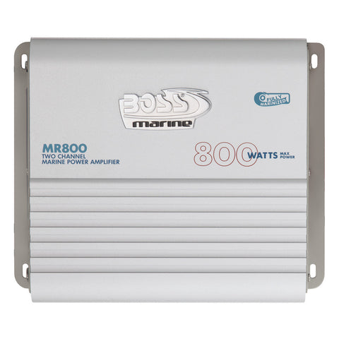 Boss Audio MR800 Marine Power Amplifier 2-Channel MOSFET Bridgeable