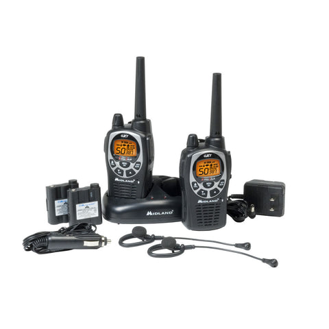 Midland GXT1000VP4 50-Channel GMRS/FRS Radio - Waterproof