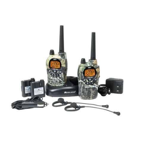 Midland GXT1050VP4 50 Channel GMRS/FRS Radio - Camo, Waterproof