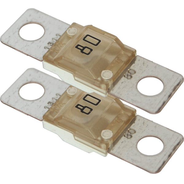 Blue Sea 5255 MIDI/AMI Fuse 80 Amp - 2 pack