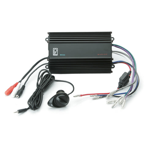 PolyPlanar 4CH, 120W, Audio Amplifier w/Volume Control
