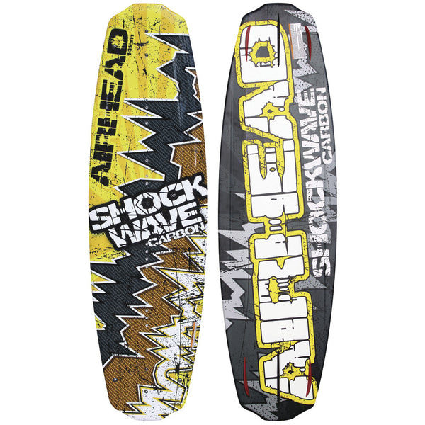 AIRHEAD Shockwave Carbon Wakeboard - 141cm - 150+ lbs