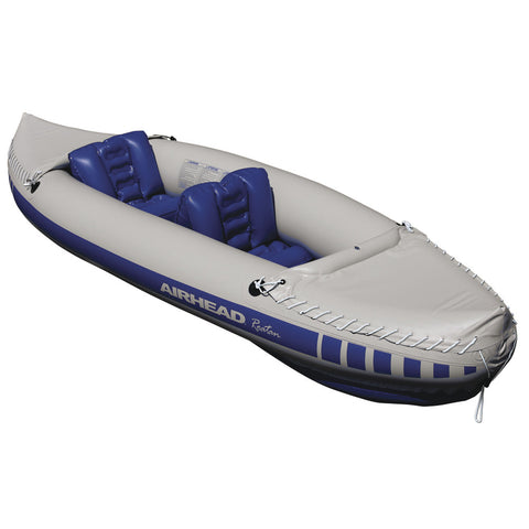 "AIRHEAD 2 Person Recreational Travel Kayak - 10' 3"" w/2 Seats"