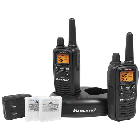 Midland LXT600VP3 36 Channel GMRS Radios - Black