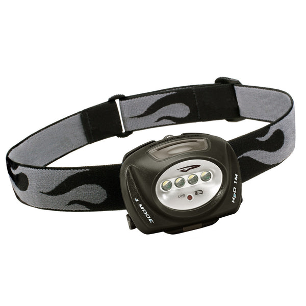 Princeton Tec QUAD 78 Lumen Headlamp - Black